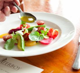 Beet Salad with Server Dressing