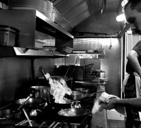 Kitchen Sautee Action Shot