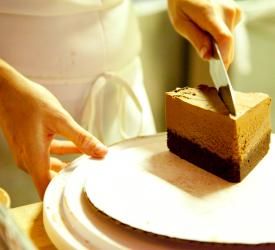 Chocolate Cake Cut