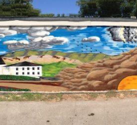 Our Mural by former bartender Josh Hunt
