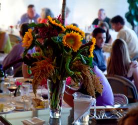 Dining Room Floral Arrangement