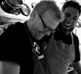 Rick Mahan, chef-owner and Adam Schulze, chef de cuisine