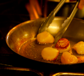 Pan Searing Dayboat Scallops