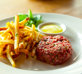 Steak Tartare with Fries