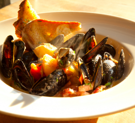 Bouillabaisse with Fresh Seafood