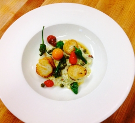 Summer Scallop Entree