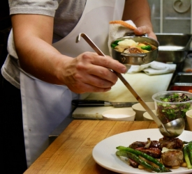 Plating Mixed Grill